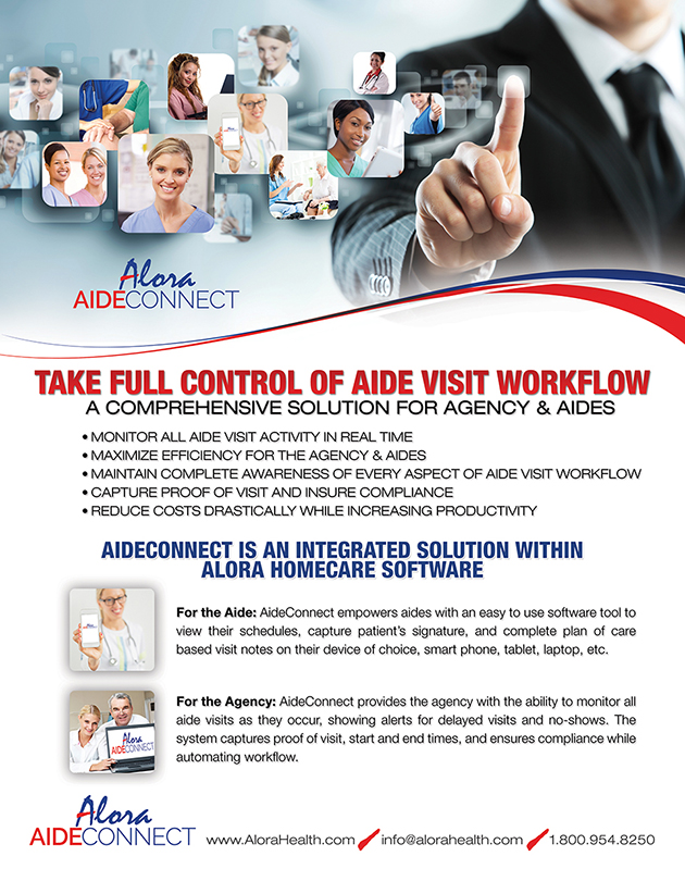 Alora Healthcare AideConnect Sales Sheet